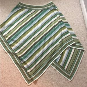 Bcbg light weight poncho sweater